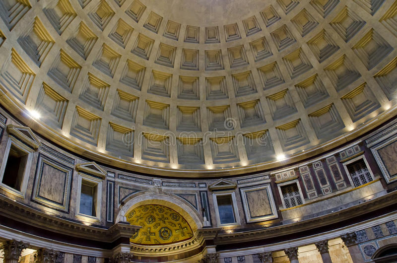 Pantheon in Rom stockfotografie
