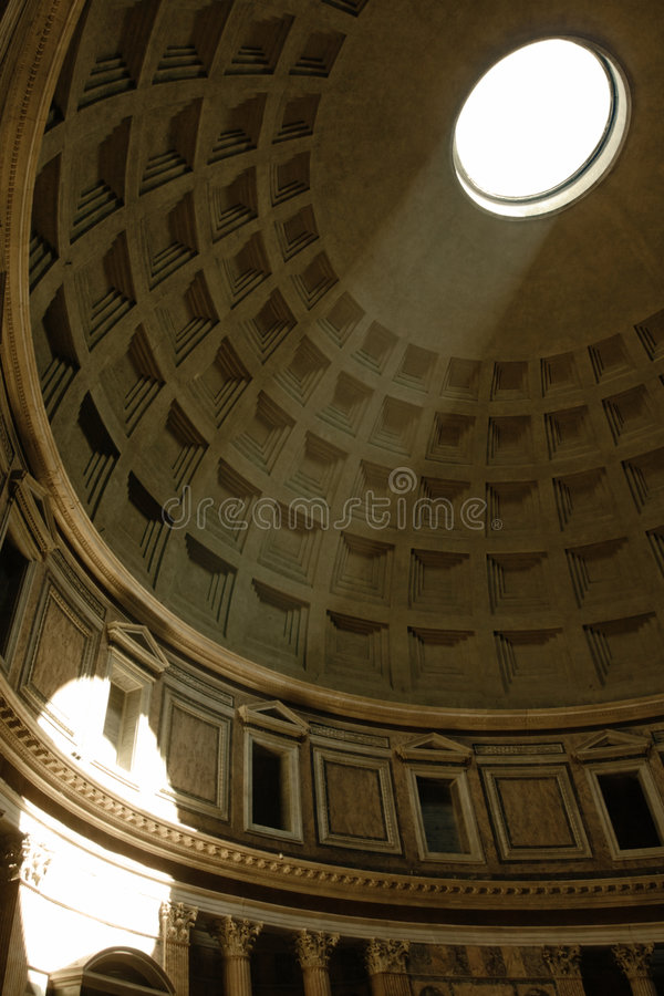 Pantheon, Rom stockfotografie