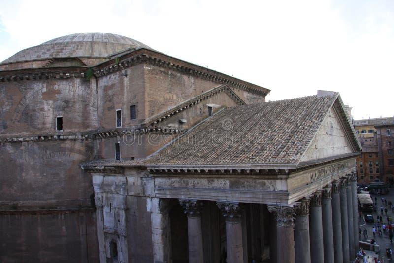 Pantheon Rom stockbilder