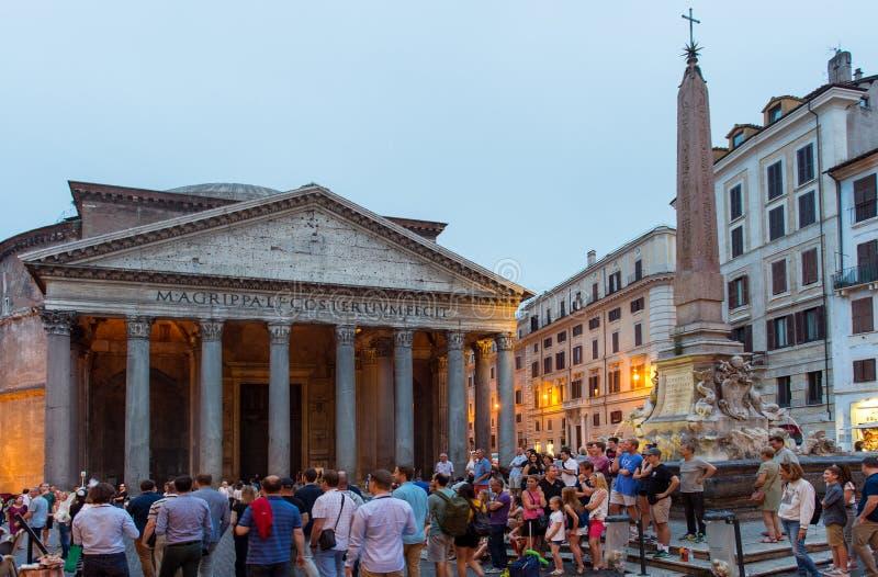 Download Pantheon in Rom redaktionelles stockfoto. Bild von historisch - 96932018