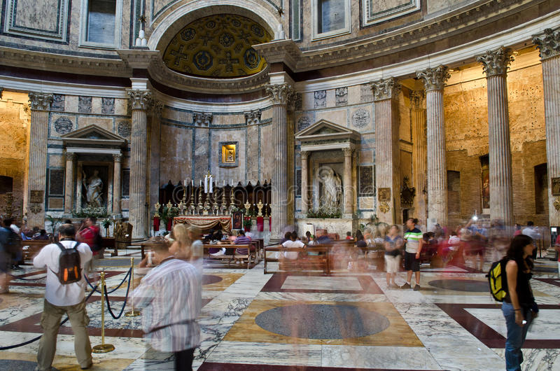 Download Pantheon, Rome editorial photo. Image of empire, italy - 25641211