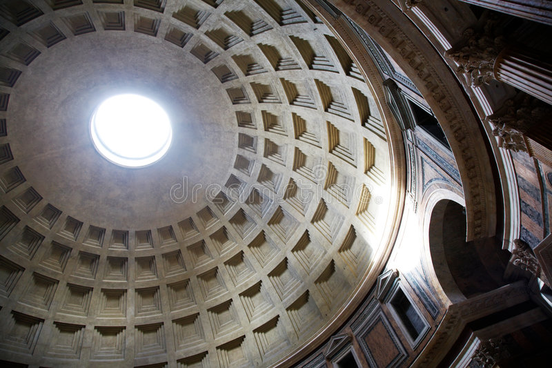 Pantheon, Rome royalty free stock photos