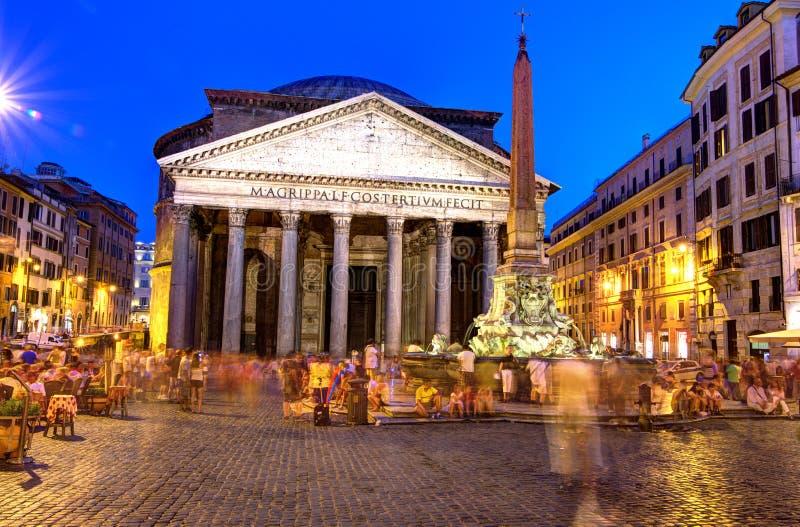 Pantheon, Rome royalty-vrije stock foto's