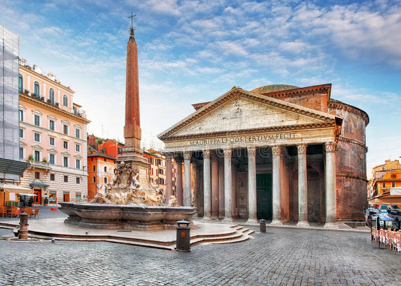 Pantheon - Rome stock photo