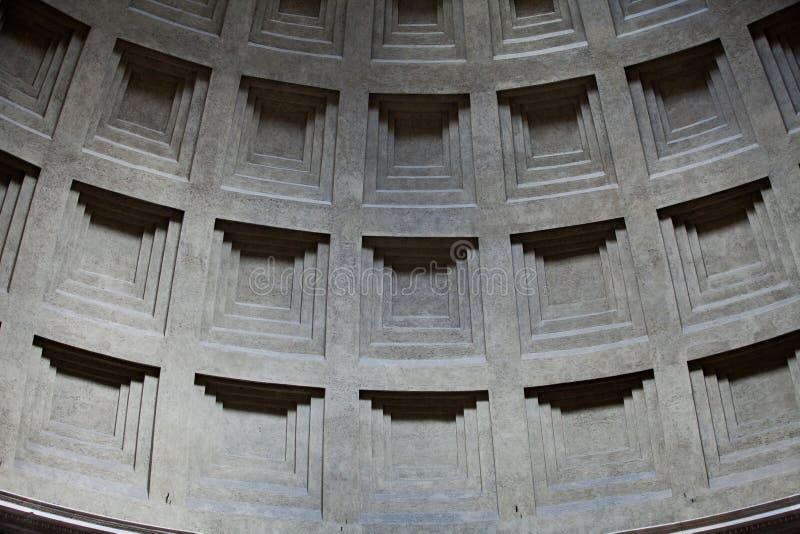 Pantheon in Rome, Italië. royalty-vrije stock foto