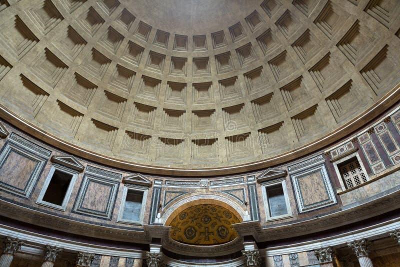 Pantheon in Rome, Italië royalty-vrije stock foto