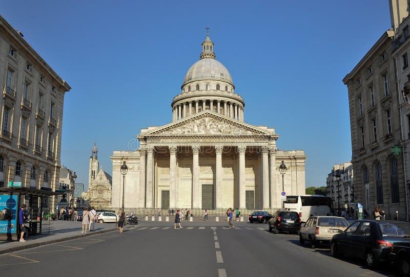 Pantheon von Paris, Frankreich lizenzfreie stockfotos