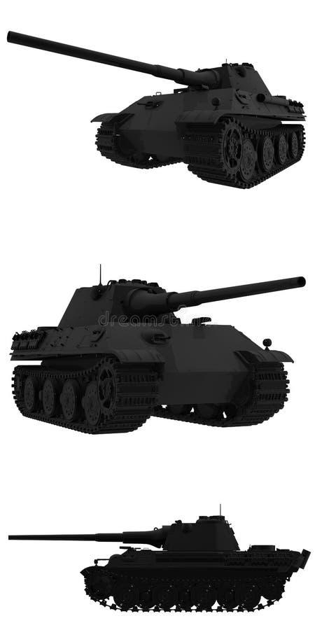 Download Panther II stock illustration. Illustration of black - 23622518