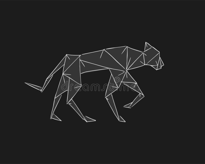 Black panther | Designed and folded by me. Made from paper o… | Flickr | 640x800