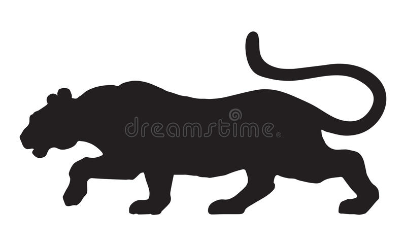 panther vector drawing stock vector illustration of mammal 73261046 rh dreamstime com panther vector wheels panther vector center caps