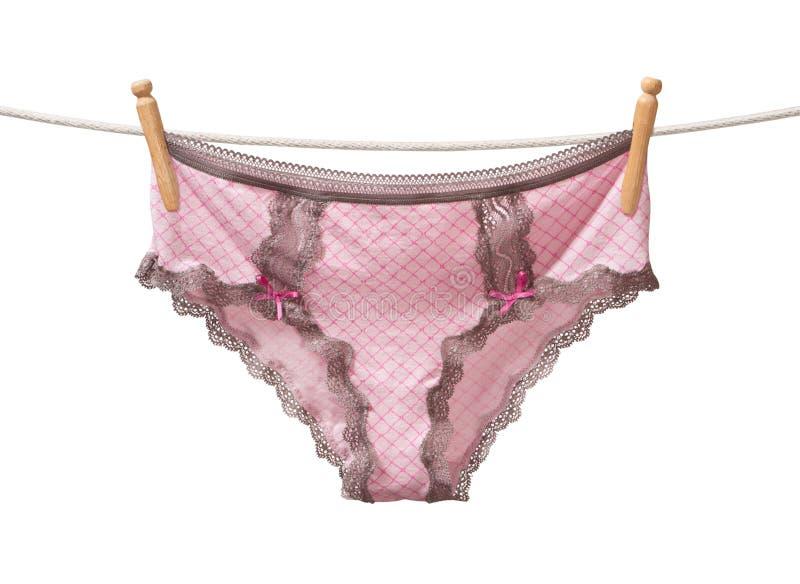 Panties on a Clothesline