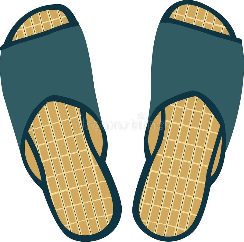 Pantoffels vector illustratie