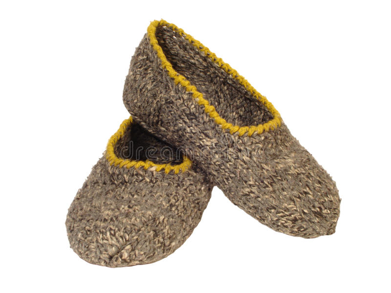 Pantoffels stock fotografie