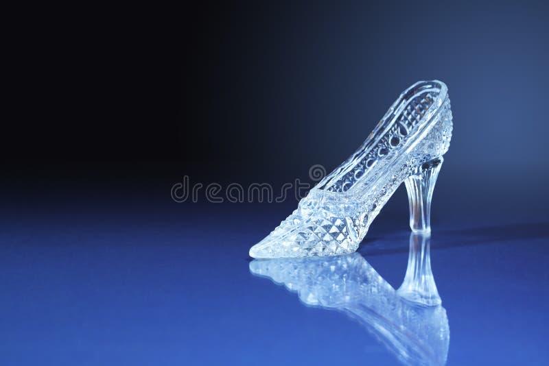 Pantofola di vetro immagini stock