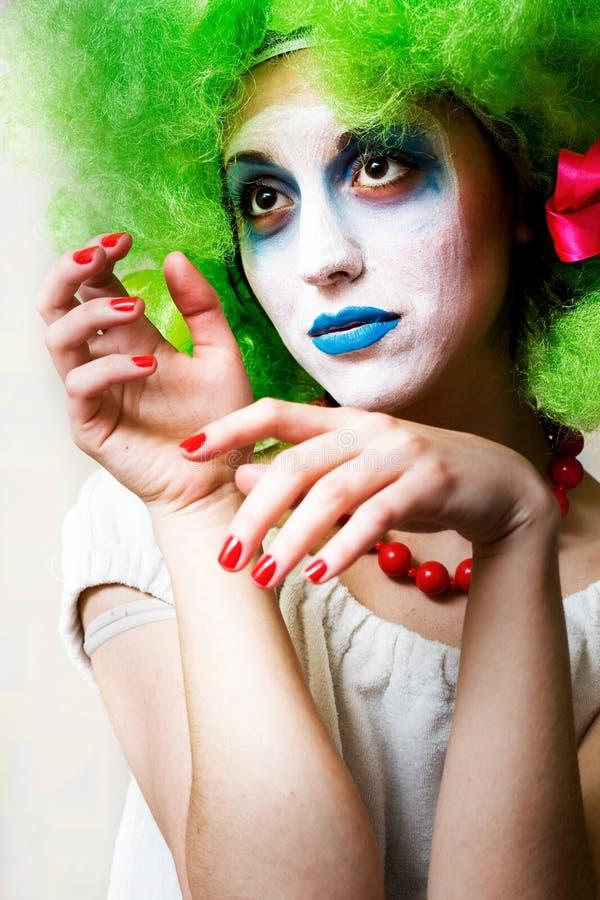 Pantomime photographie stock libre de droits