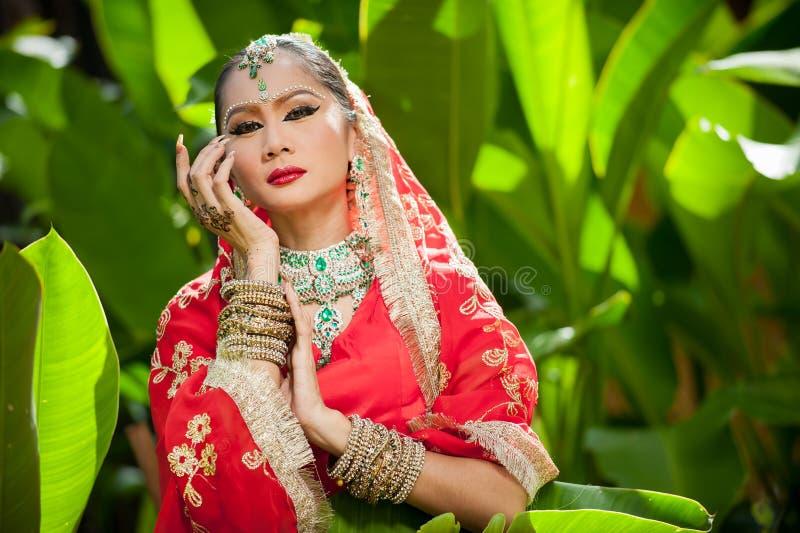 Pantomimeprestaties in Thailand stock afbeelding