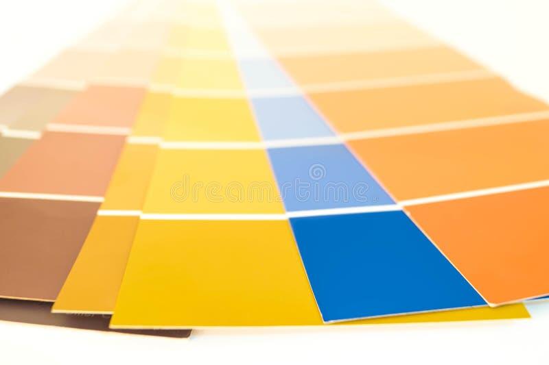 Pantone调色板 免版税图库摄影