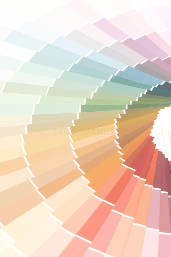 pantone каталога цветов образца стоковое фото rf