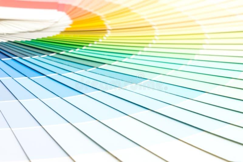 pantone каталога цветов образца стоковые изображения rf