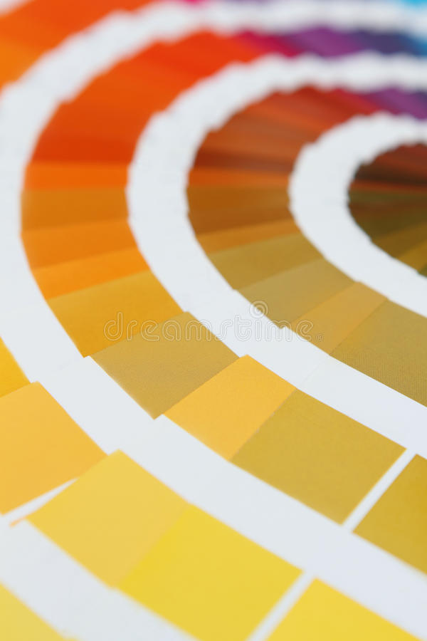 Pantone Royalty Free Stock Photos