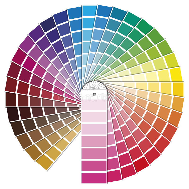 PANTONE stock illustratie