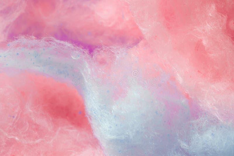 Pantone, colore di tendenza dei precedenti di corallo e porpora di anno, zucchero filato fotografia stock libera da diritti