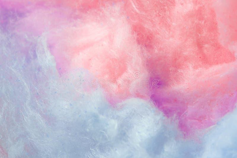 Pantone, cor da tendência do fundo do ano, o coral e o roxo, algodão doce fotos de stock royalty free