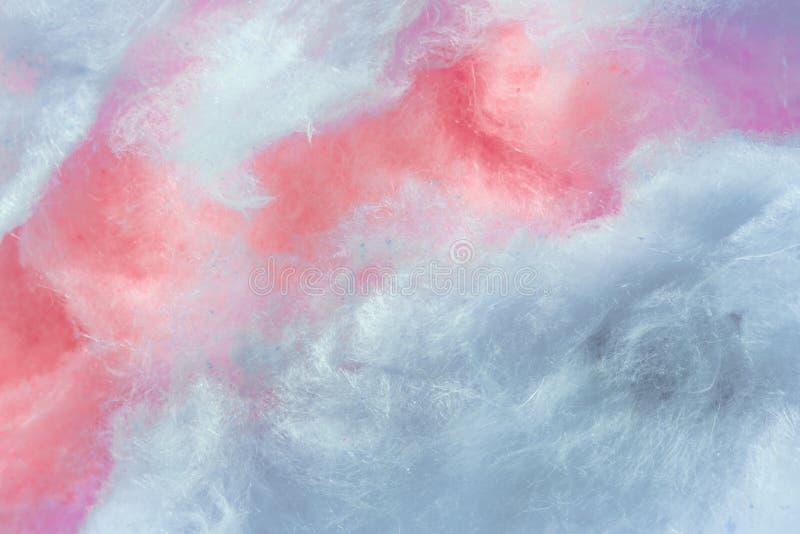 Pantone, cor da tendência do fundo do ano, o coral e o roxo, algodão doce imagens de stock royalty free