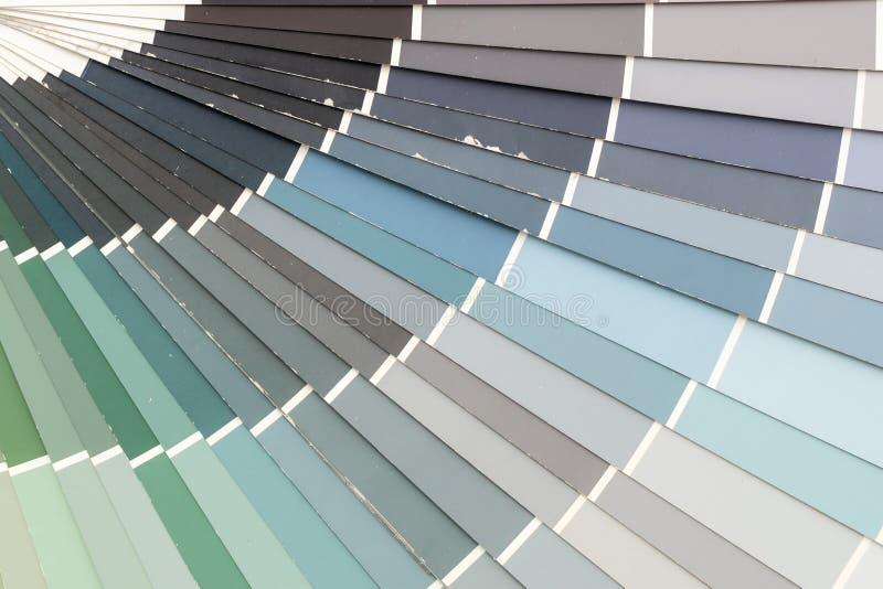pantone de catalogue de couleurs d'échantillon images stock