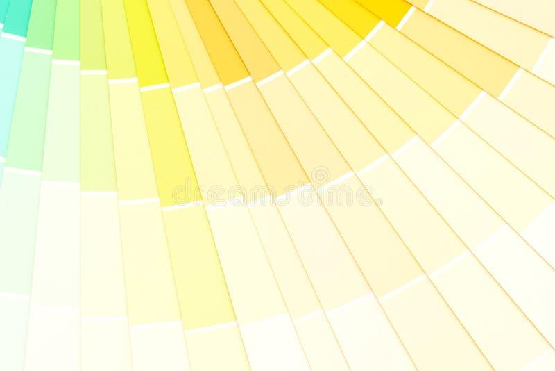 pantone do catálogo das cores da amostra foto de stock royalty free