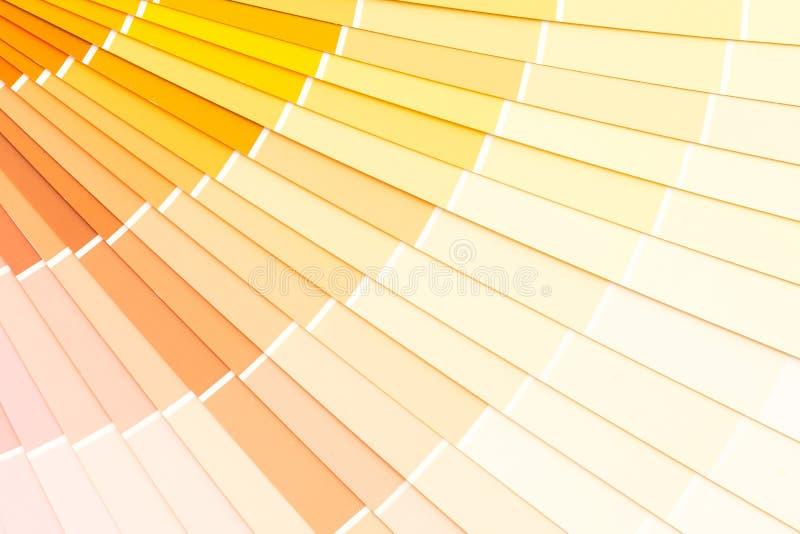 pantone do catálogo das cores da amostra imagens de stock