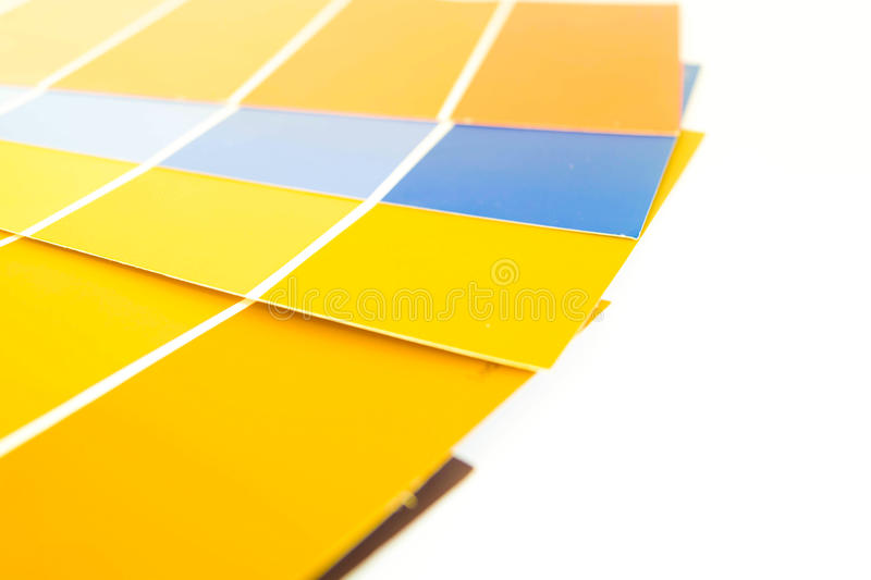 Pantone paletter 5 royaltyfria foton