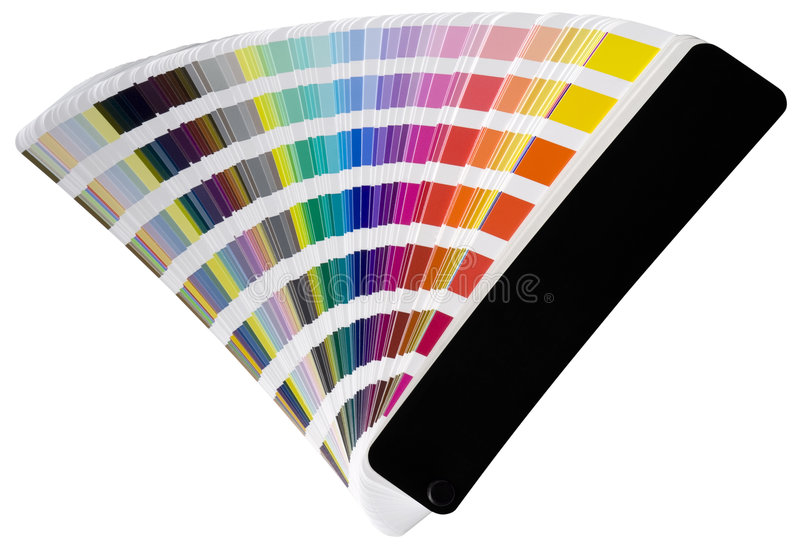 Pantone scale royalty free stock images