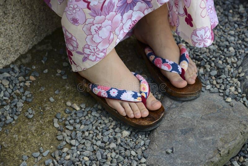 Pantoufles d'été photo libre de droits