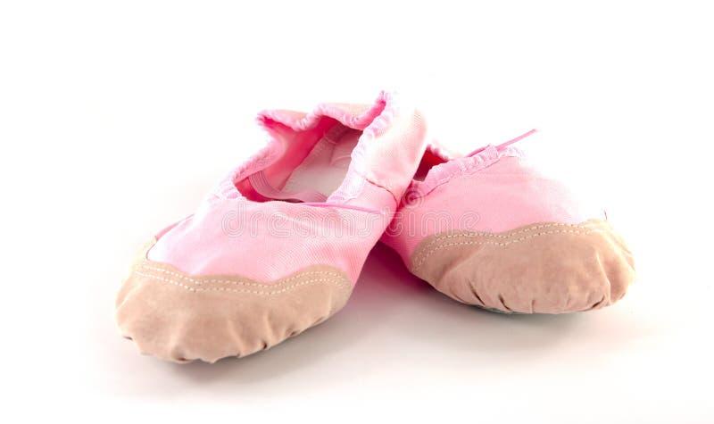 Pantoufles de ballet images libres de droits