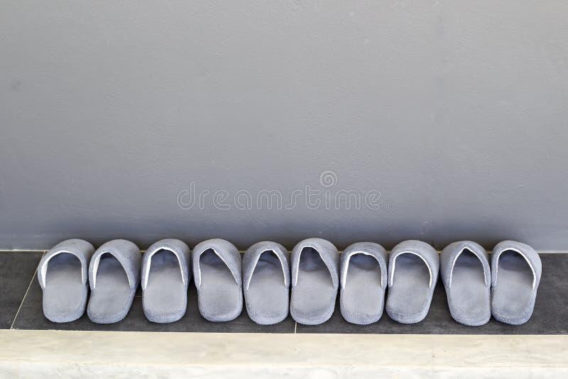 Pantoufles de Chambre image stock