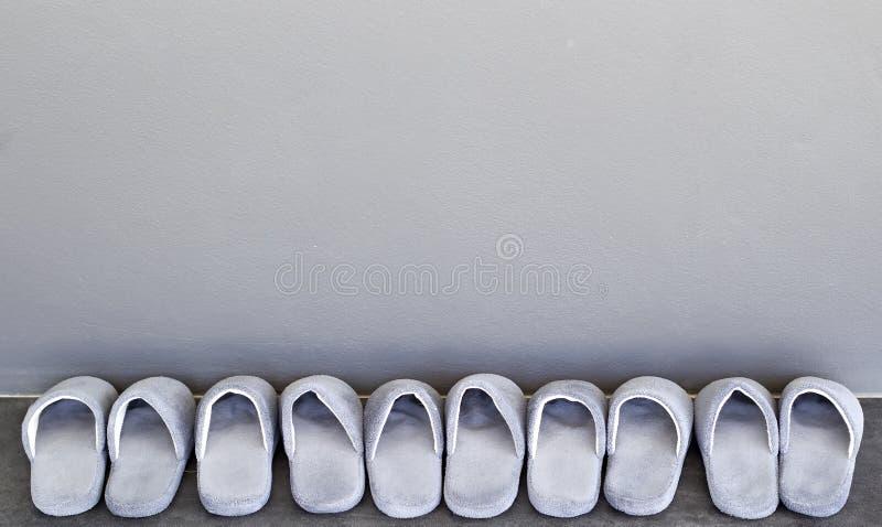 Pantoufles de Chambre photographie stock