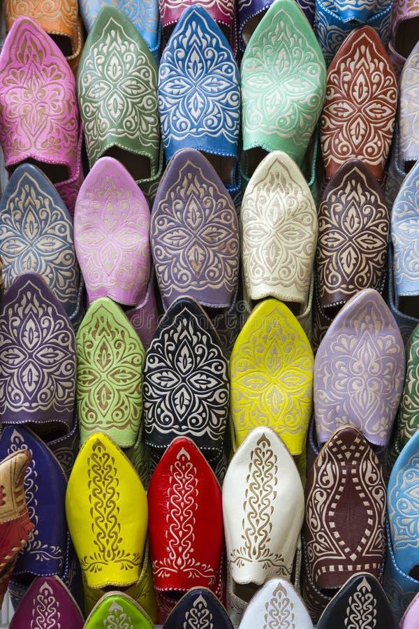 Pantoufles marocaines photos stock