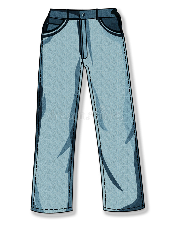 Download Pants stock illustration. Image of free, fashion, show - 6520706