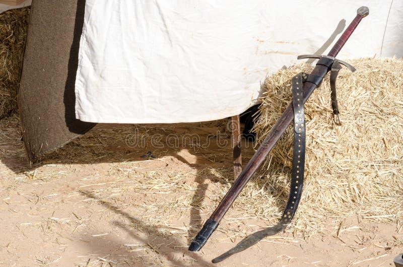 Pantser van de middeleeuwse ridder royalty-vrije stock foto