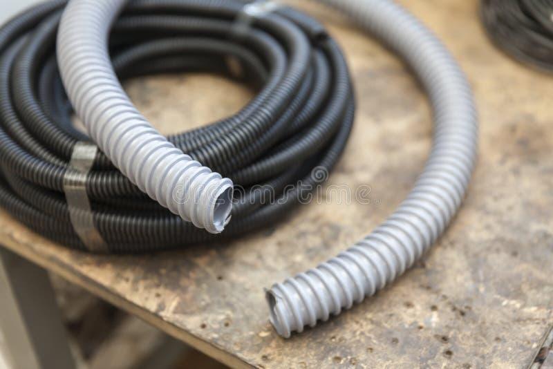 Panwiowy plastikowy wąż elastyczny zdjęcia royalty free