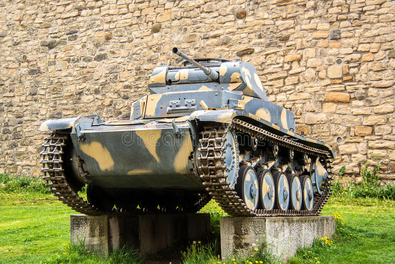 Panzer II Second World War German Tank stock photography