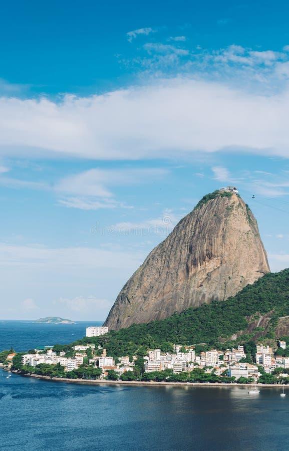 Pao de Acucar, Rio de Janeiro, Brazil royalty free stock photos