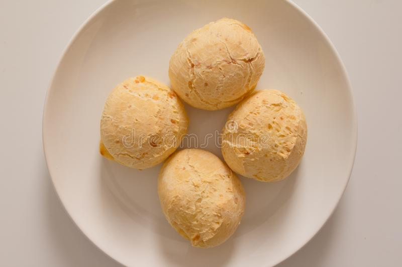 Pao de Queijo is a cheese bread ball from Brazil. Also known as stock photography