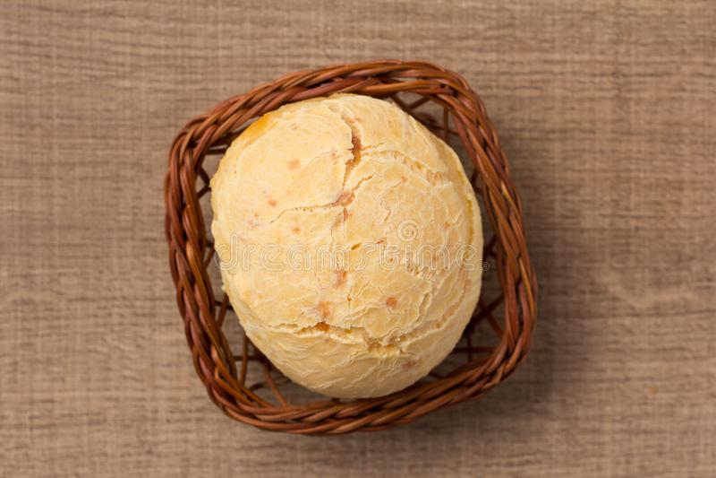 Pao de Queijo ist ein Käsebrotball von Brasilien Alias lizenzfreie stockbilder