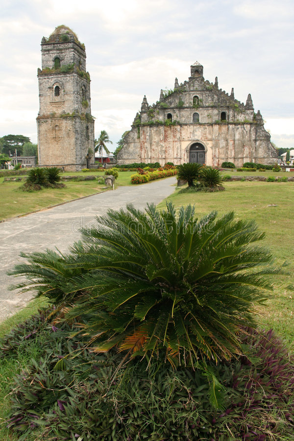 Free Paoay Old Colonial Church Ilocos Philippines Royalty Free Stock Image - 1589786