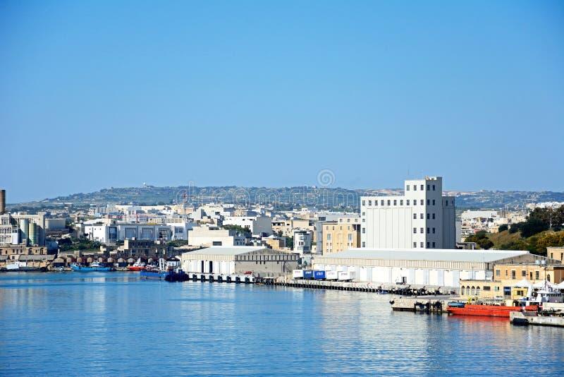 Paola doki, Malta obrazy royalty free
