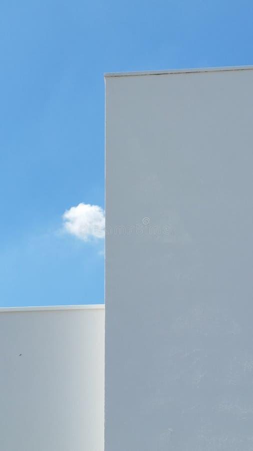 Paolo niebo i zdjęcie royalty free