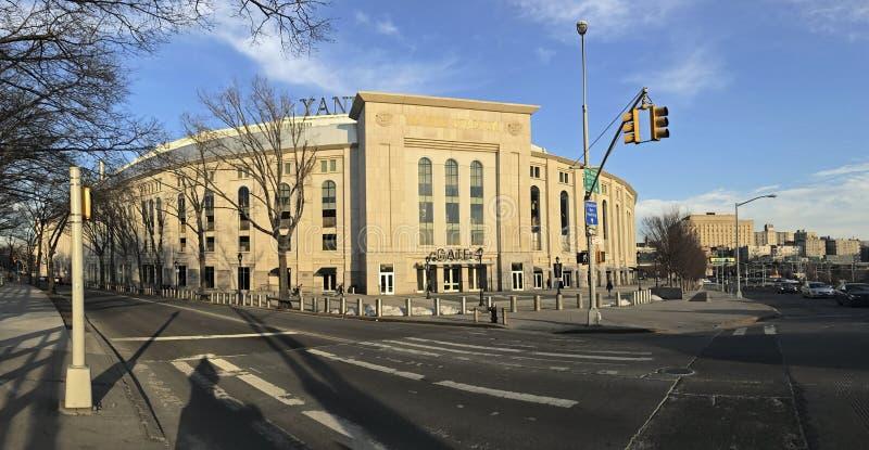 Paoramic του σταδίου Αμερικανού στο Bronx στοκ εικόνες