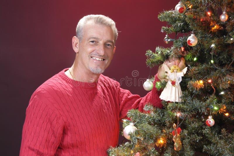 Papá de la Navidad fotografía de archivo